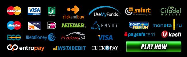 payment methods at casino.com