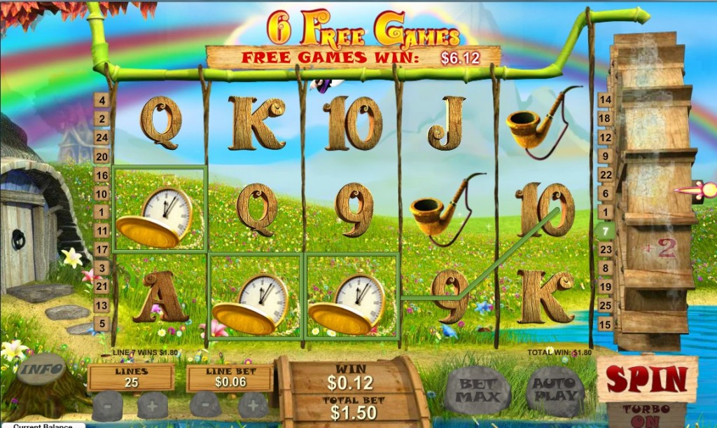 fortune hill slot reel view
