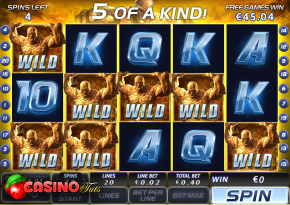 big win on fantastic four slot