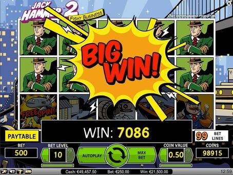 jack hammer 2 big win