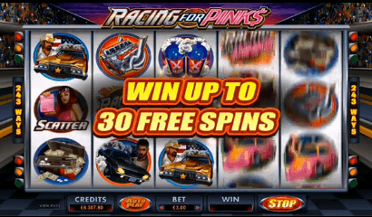 racing for pinks slot free spins