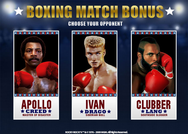 rocky slot knockout bonus