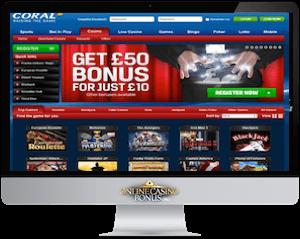 coral online casino imac