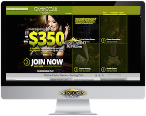 Gaming Club Online Casino Bonus