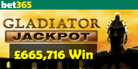 gladiator jackpot win