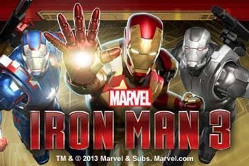ironman 3 slot logo
