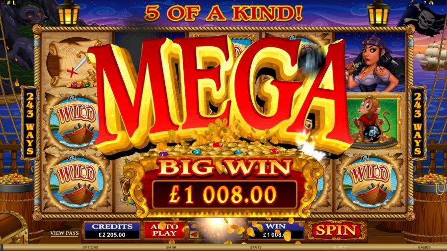 loose cannon slot big win!