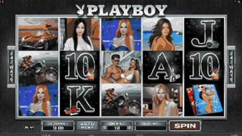 playboy slot reel view