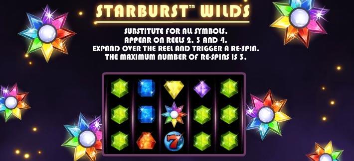 starburst wild symbol explained