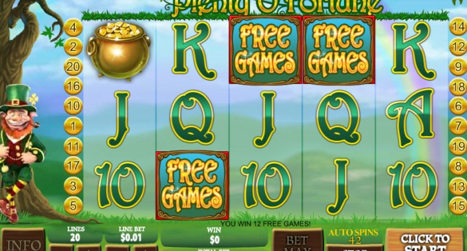 Play Plenty OFortune Online Slots at Casino.com UK