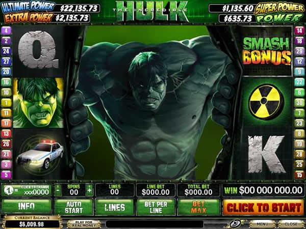 the incredible hulk slot