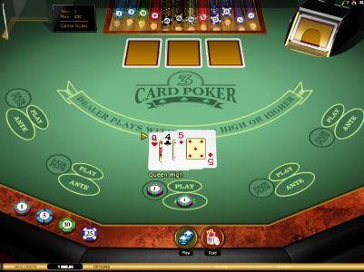 Three Card Poker Bonus