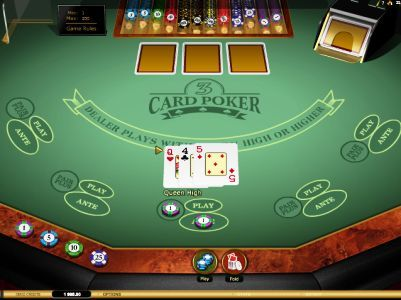 Three Card Poker Bonus