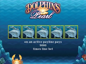 dolphins pearl slot wild symbol