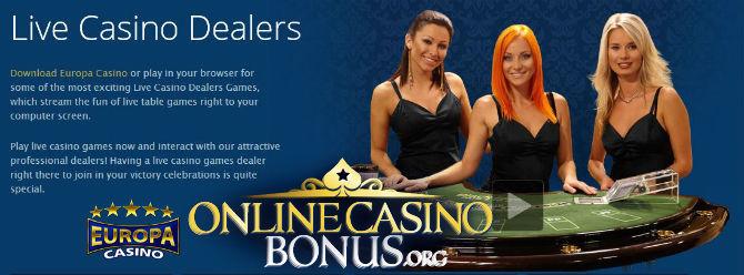 Casinos with live dealers golden palm casino hotel las vegas