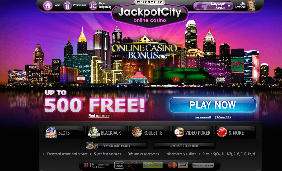 $25 No Deposit Bonus at Grande Vegas Casino