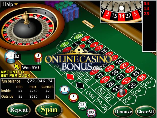 online roulette joining bonus