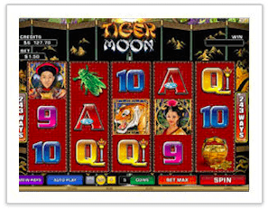 the tiger moon slot
