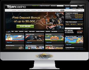 titan casino imac