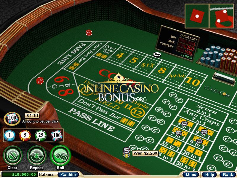 Caribbean craps casino social gaming online gambling
