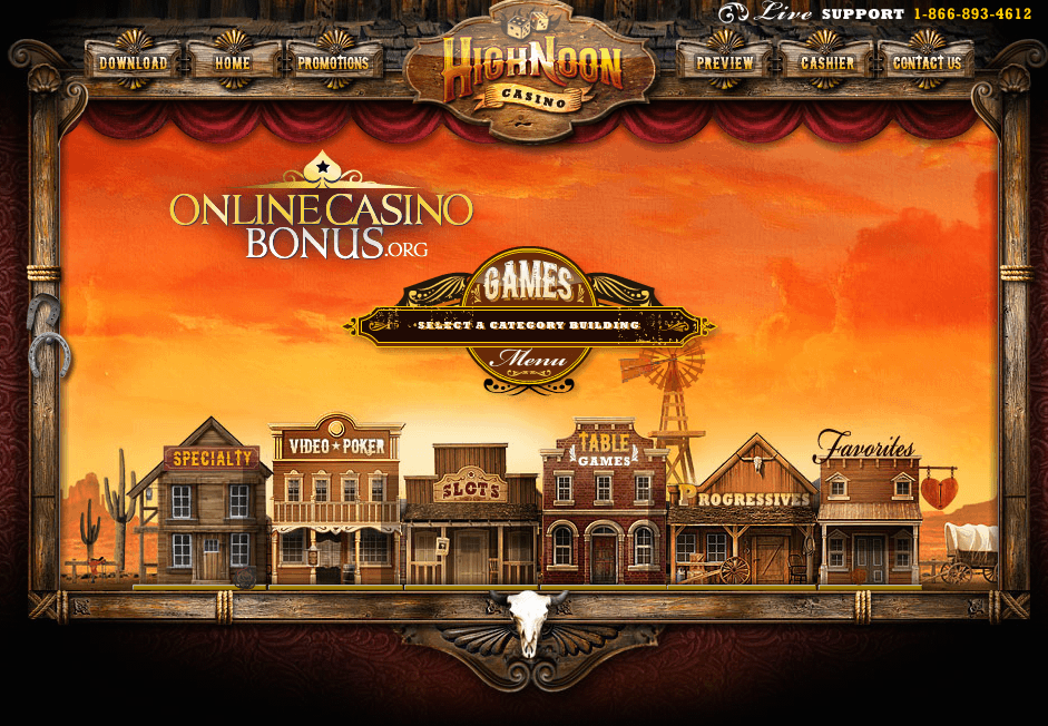 high noon casino bonus code 2019