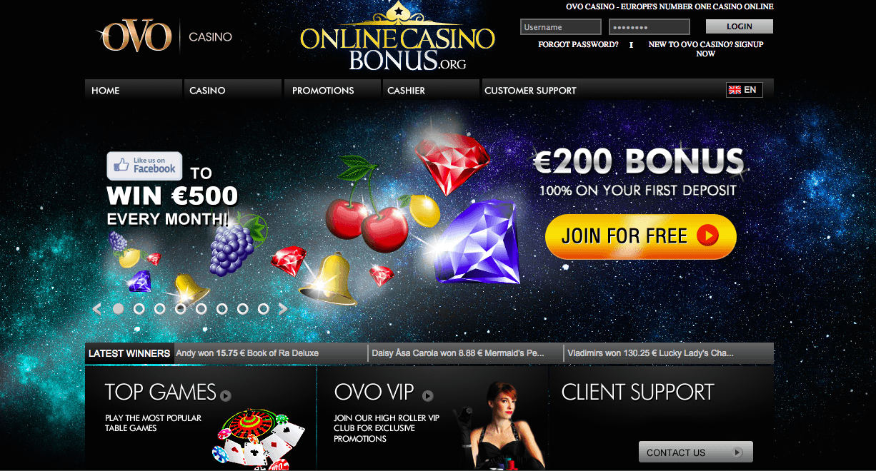 online casino bonus codes lord of ocean
