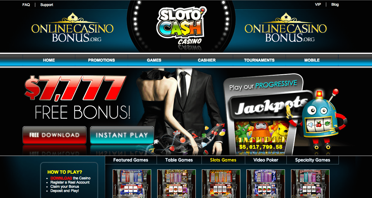 sloto cash casino bonus codes
