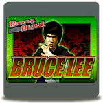 Bruce Lee slot logo
