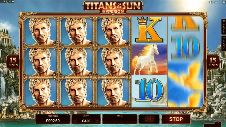 Titans of the sun hyperion screenshot