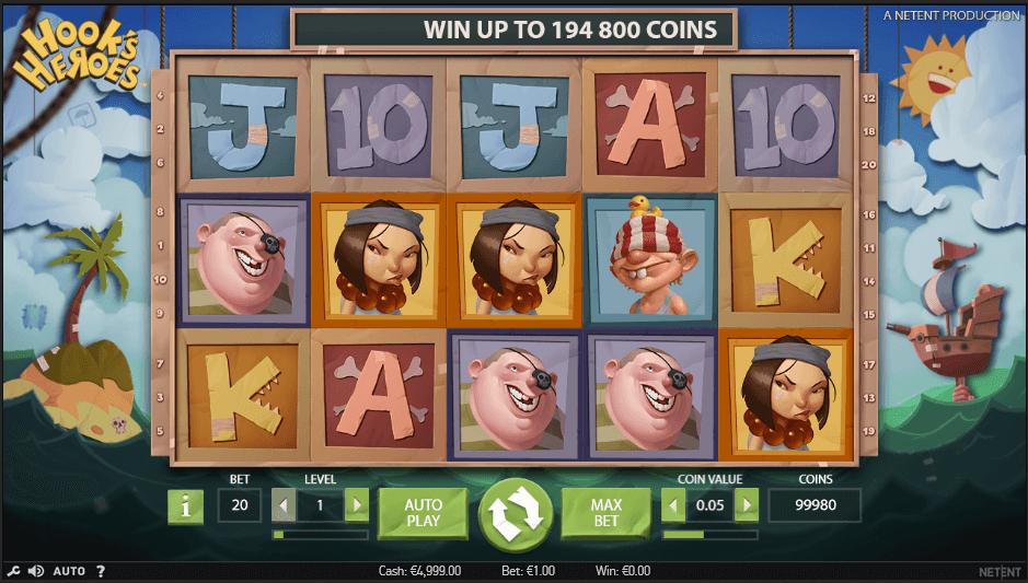 hookes heroes screenshot