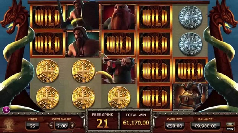 Vikings go Wild slot screenshot