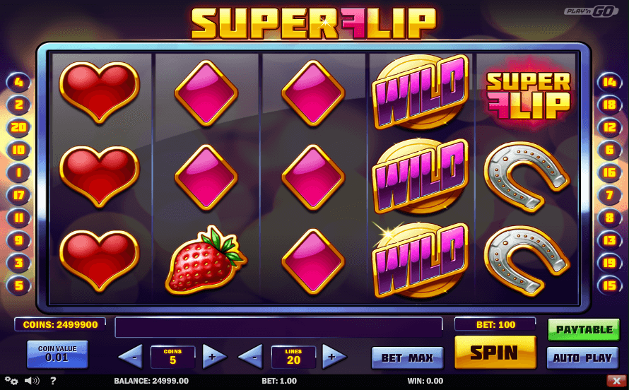 superflip slot screenshot