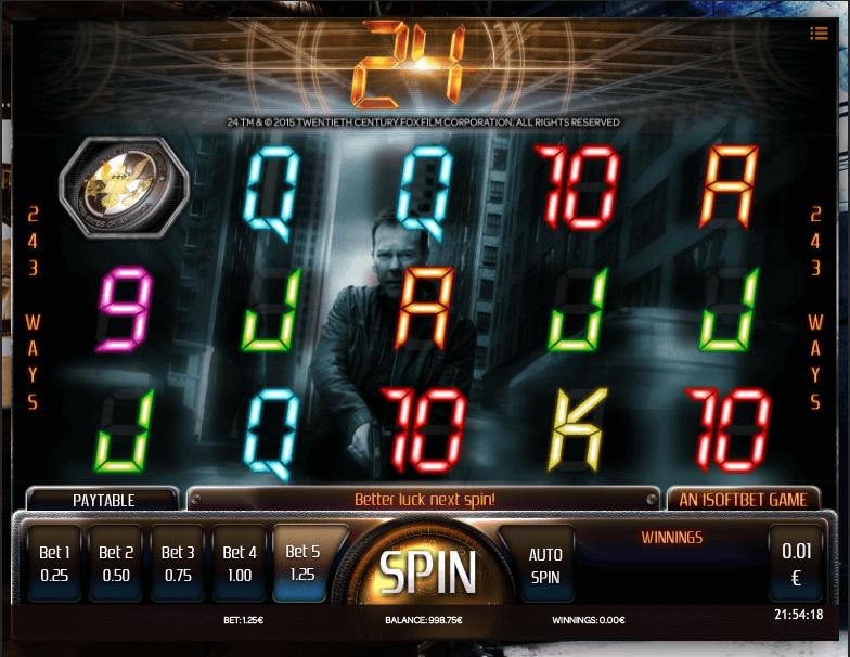 24 slot screenshot