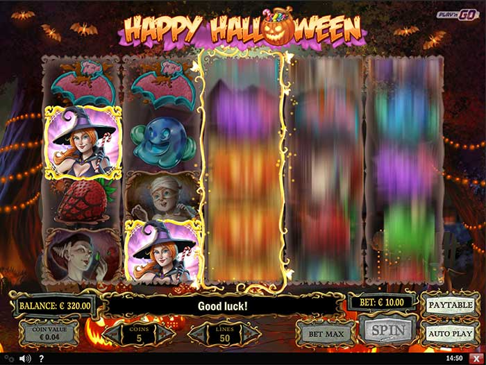 Happy Halloween Slot by PlaynGo - Play for Free Online