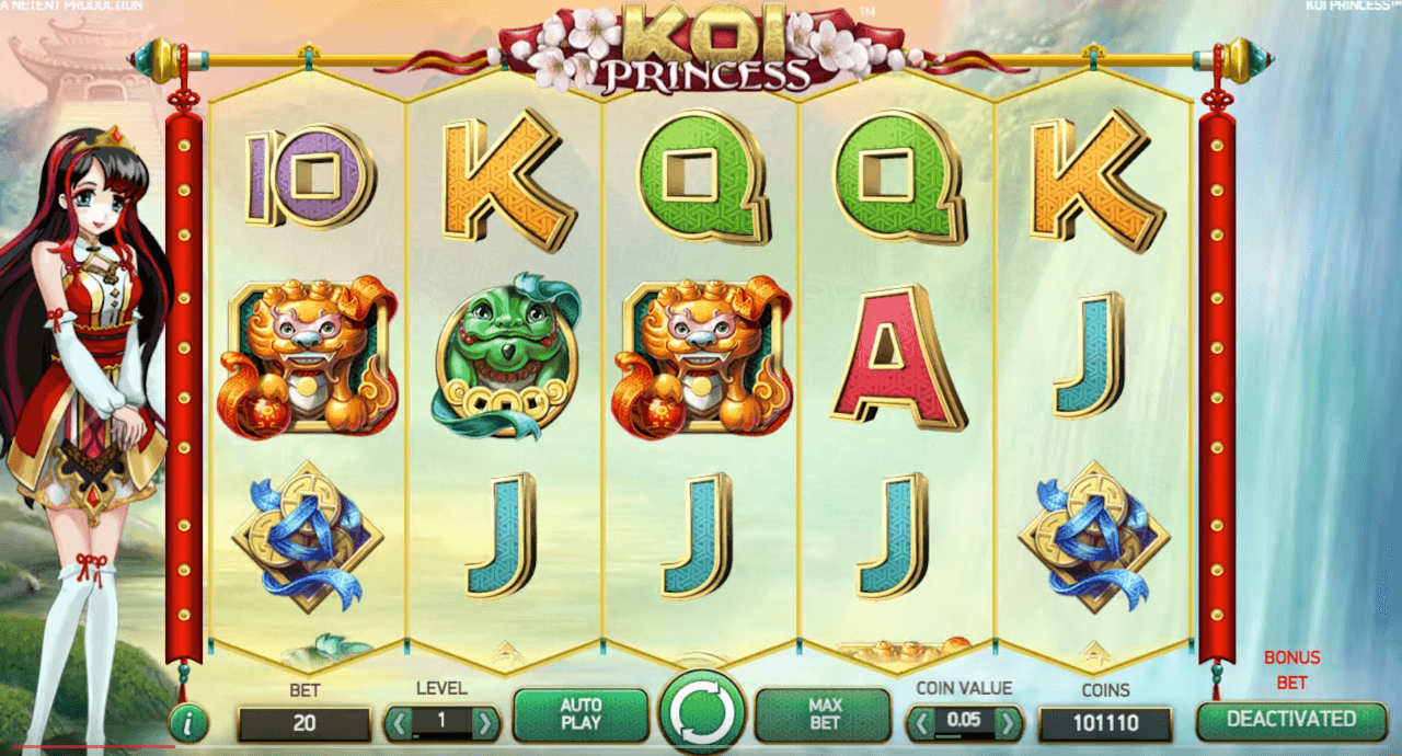 koi princess slot screenshot