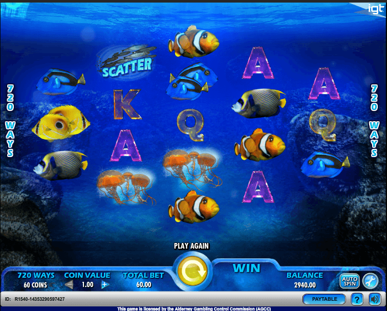 pacific paradise slot screenshot