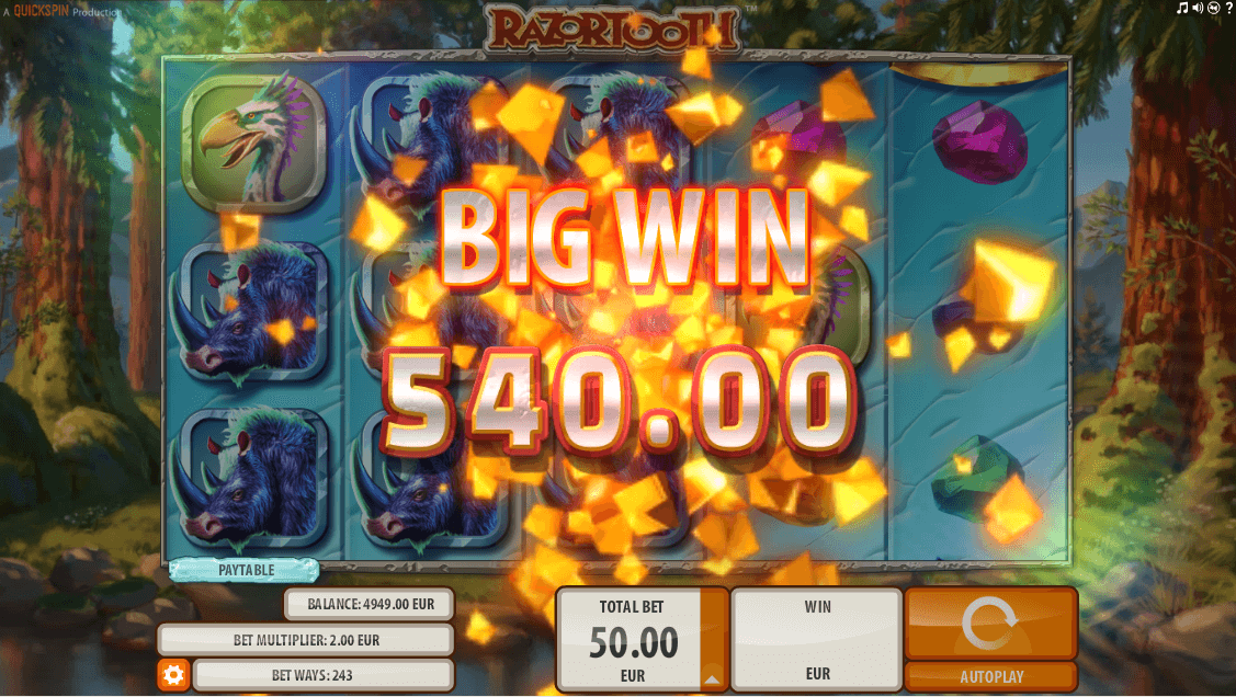 razortooth slot screenshot