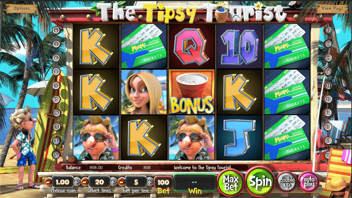 tipsy tourist slot screenshot
