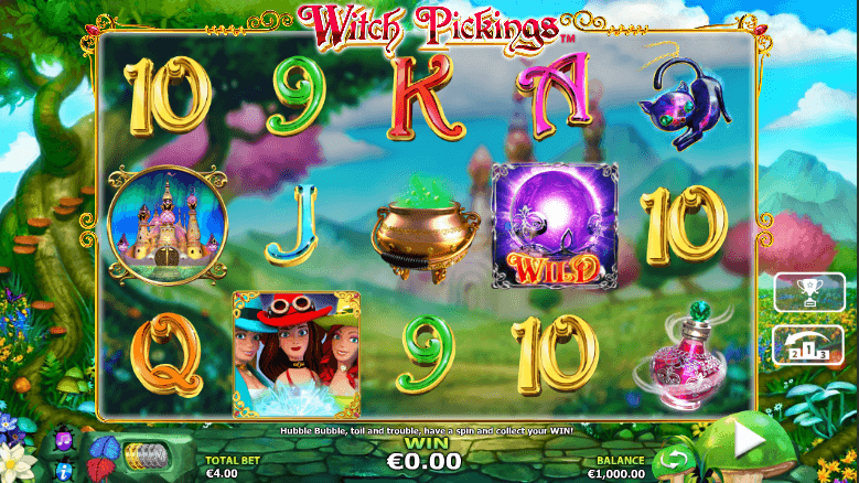 witch picking slot screenshot