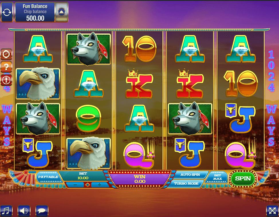 By The Rivers of Buffalo Slot screenshot