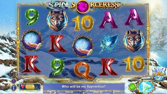 spin sorceress slot screenshot