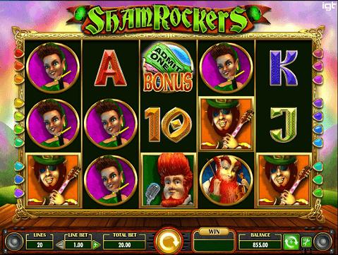 Shamrockers Eire To Rock Slots screenshot big