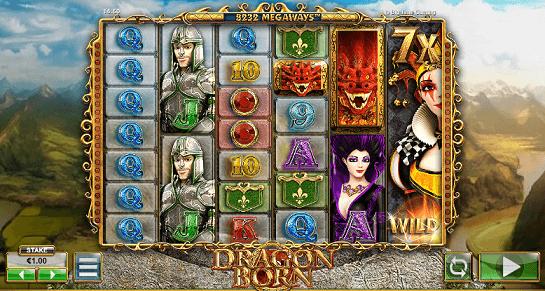dragon born slot screenshotr
