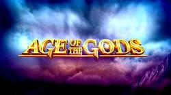 age of gods slot logo