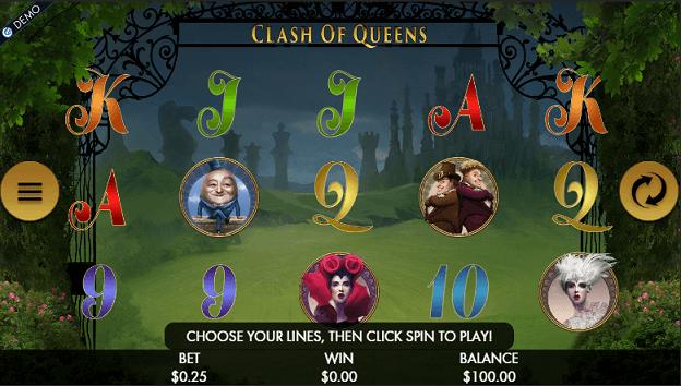 clash of queens screen big