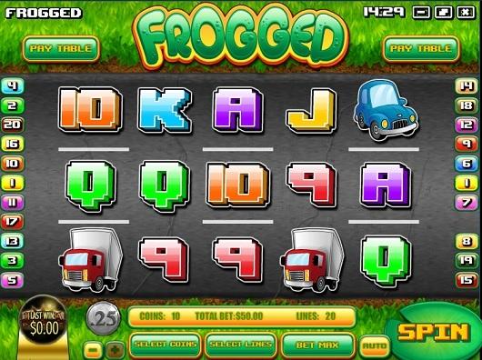 frogged slot screenshot