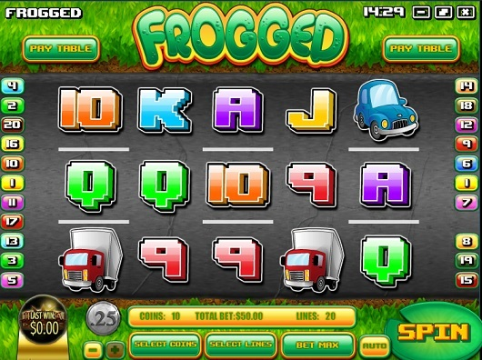 frogged slot screenshot