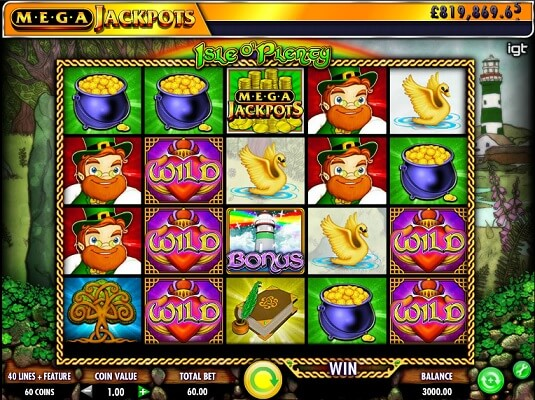 isle-o-plenty-slot screenshot