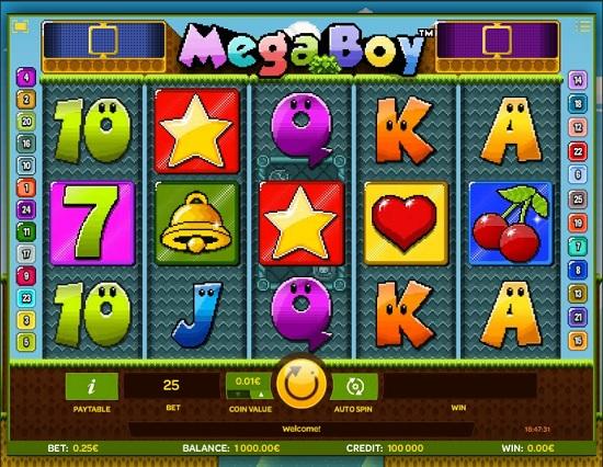 mega boy slot screenshot big