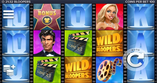 bloopers slot screen big